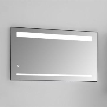 """33"""" x 28"""" Milan Mirror - Dark Gray"""