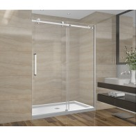Shower Set 60inch - Square Style - 3 wall setup without base