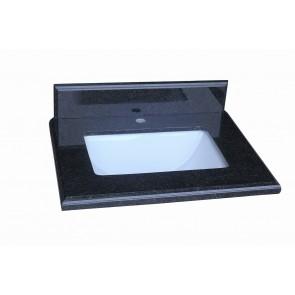 "30"" Counter Top Black Diamond Granite - Single Sink"