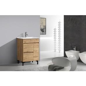 "24"" Rock - Wood Texture - Single Sink Bathroom Vanity-New Arrival"