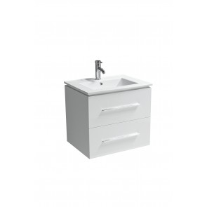 "24"" Jacob- White - Single Sink Modular Wall-Hung Bathroom Vanity - Sold Out - Coming Soon"