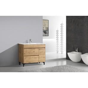 """40"""" Rock - Wood Texture - Single Sink Bathroom Vanity- Coming Soon"""