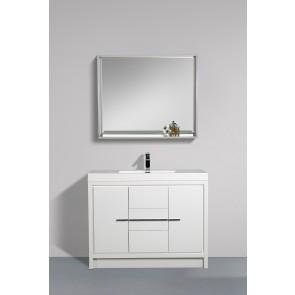 "42"" Allier - White - Single Sink Bathroom Vanity - Limited Stock"