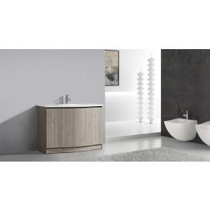 "48"" Aurora - Wood Texture - Single Sink Bathroom Vanity-Tax-in While Quantities Last"