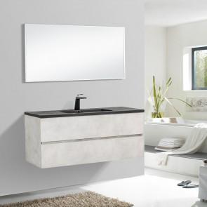 """48"""" Edge - Grey - Single Sink Wall-Hung Bathroom Vanity"""