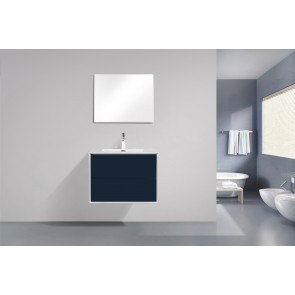 "30"" Fleur - Single Sink Wall-Hung Bathroom Vanity - New Collection"