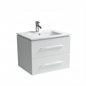 "30"" Jacob- White - Single Sink Modular Wall-Hung Bathroom Vanity - Sold Out - Coming Soon"