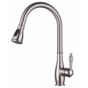 Retro Elite Kitchen Faucet - Brushed Nickel