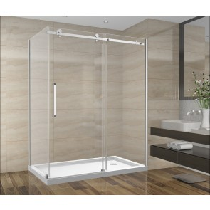 Shower Set 60inch - Square Style - 2 wall setup without base