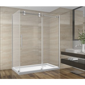 Shower Set 60inch - Round Style - 2 wall setup without base