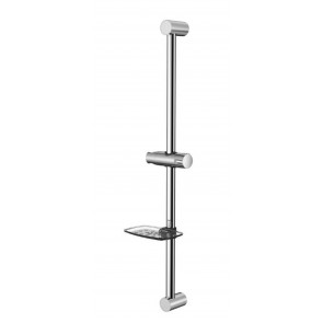 Shower Slide Bar - Brushed Nickel