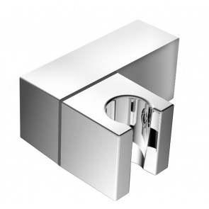 Shower Wall Bracket Chrome - Square