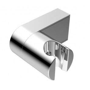 Shower Wall Bracket Brushed Nickel - Round