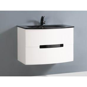"30"" Tula White - Single Sink Wall-Hung Bathroom Vanity"