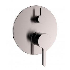 Mitigeur de douche avec 3 fonctions et balance de pression - Nickel Brossé